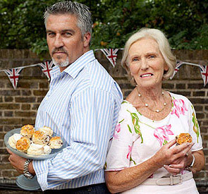 Great British Bake Off's Paul Hollywood and Mary Berry