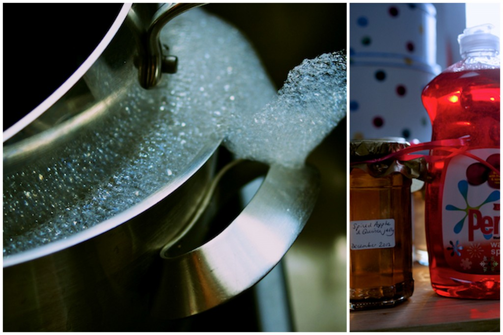 Washing up with Persil Warm Spice