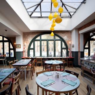 Jamie Oliver's Union Jacks restaurant in Chiswick