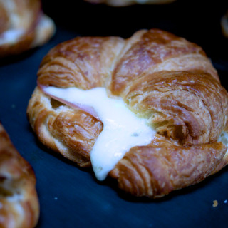 Easy kids lunch: savoury croissants