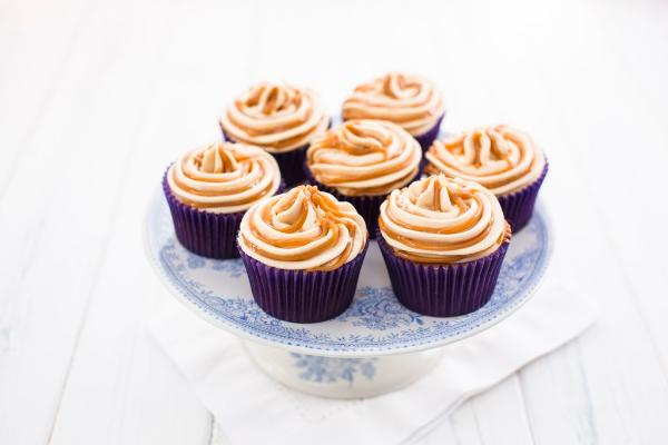 Banoffee cupcakes - photo by Sharron Gibson