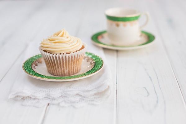Chai cupcakes - photo by Sharron Gibson