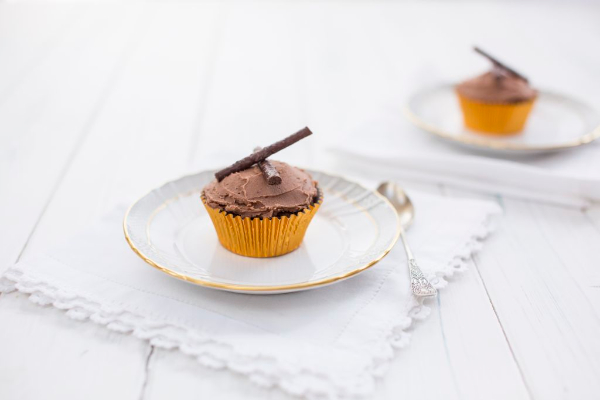 Mint chocolate cupcakes - photo by Sharron Gibson