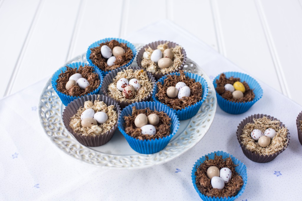 Easter nests - photo by Sharron Gibson for UKTV