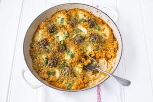Meatball pasta bake - photo by Sharron Gibson for UKTV
