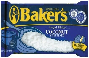 American Baker's angel flake coconut