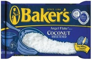 American Baker's angel flake coconut