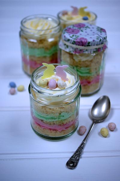 Cupcakes in jars