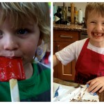 The Feeding Boys kitchen helpers