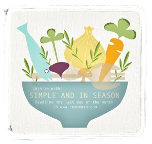 Simple and in Season blog event