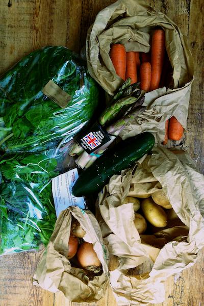 Edible Ealing veg box