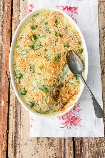 Spaghetti bolognese bake