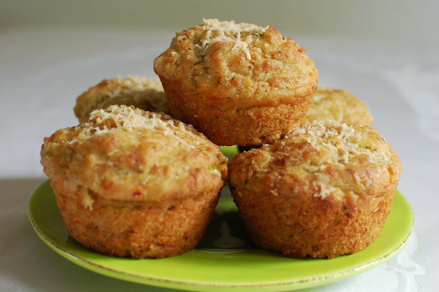 Scrumptious Sally's cheddar, chilli and courgette muffins