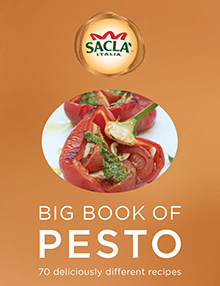 Sacla Big Book of Pesto giveaway