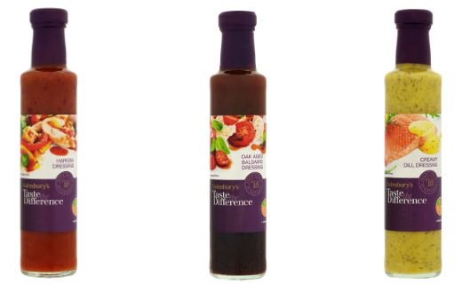 Sainsbury's TTD Dressings