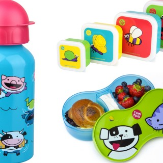 Win back to school lunch set