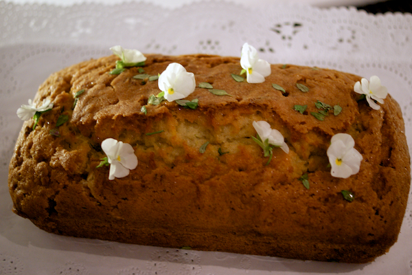 Courgette, thyme and lemon drizzle cake from feedingboys.co.uk
