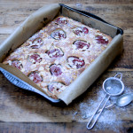 Fig and almond cake on feedingboys.co.uk