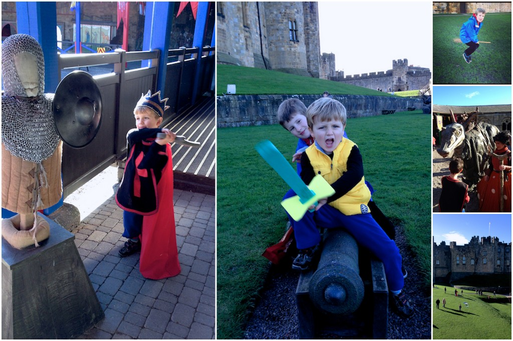 Our day out at Alnwick Castle