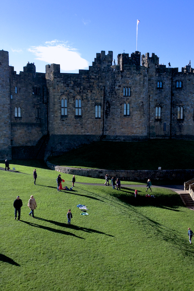 Alnwick Castle aka Hogwarts
