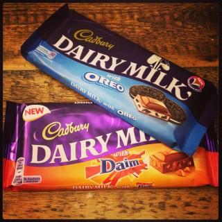 Cadbury Dairy Milk with Daim and Oreo