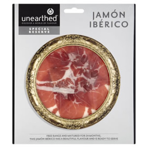 Unearthed special reserve jamon Iberico