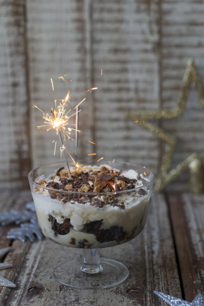 Christmas Pudding Trifle by Katie Bryson for the Good Food Channel, photo by Sharron Gibson