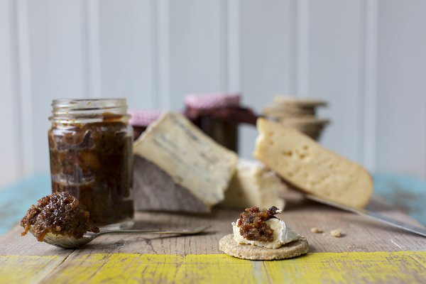 Bacon Jam with cheeseboard