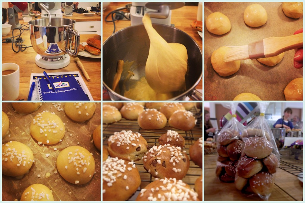How to make easy brioche rolls on feedingboys.co.uk