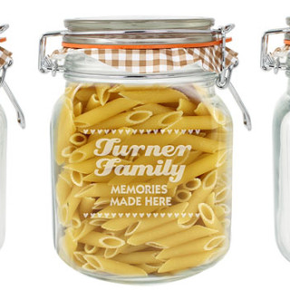 Win personalised glass jar