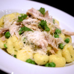 Lemon, pesto and turkey gnocchi