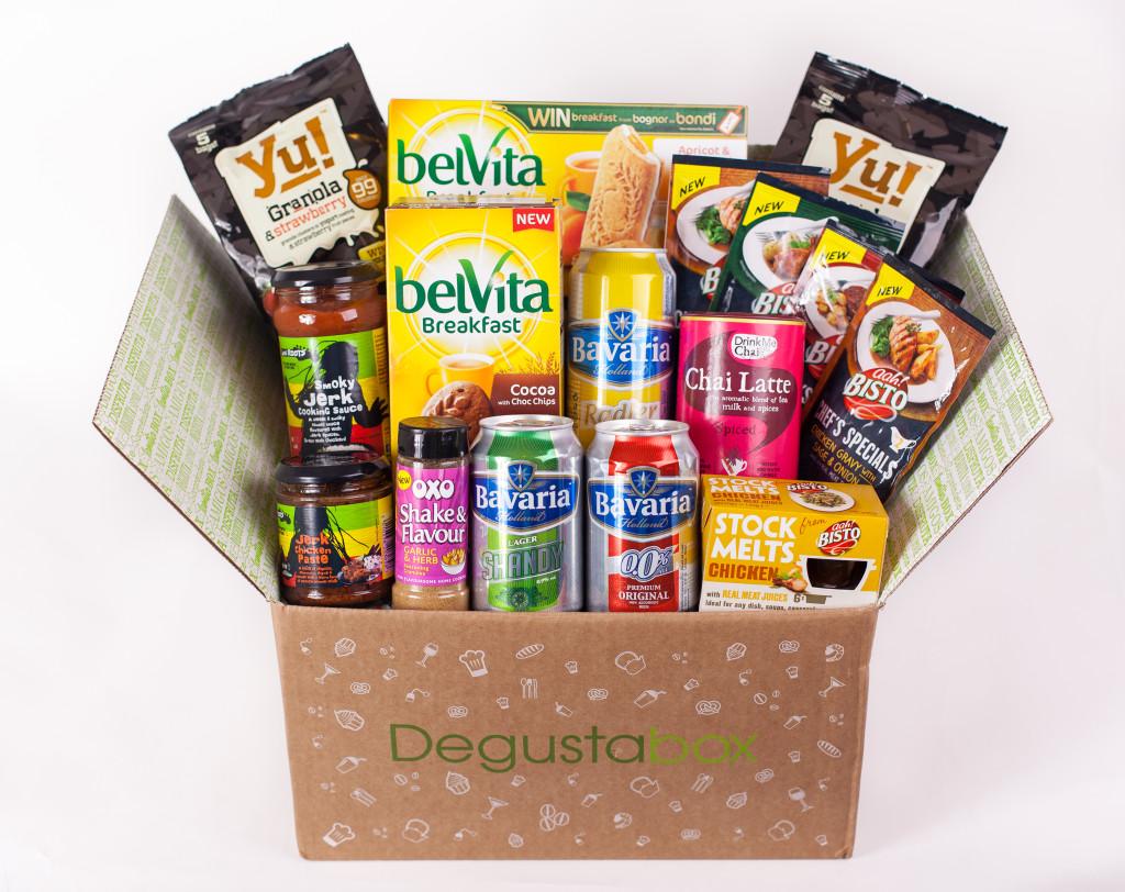Degustabox giveaway on feedingboys.co.uk