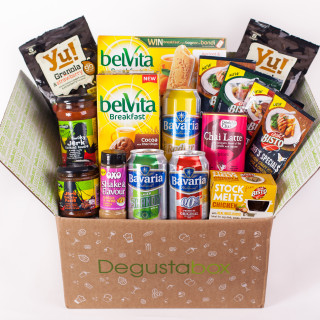 Degustabox giveaway on feedingboys.co.uk