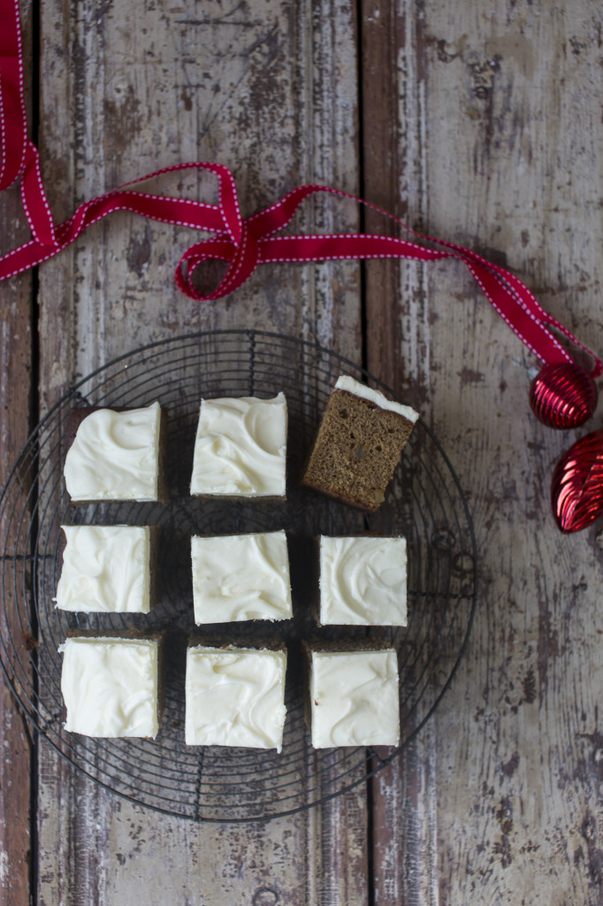 Good Food Christmas, Spiced Ginger Traybake, recipe by Lucy Lovell, photo by Sharron Gibson, styling by Katie Bryson