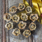 Easy filo mince pies by Katie Bryson for the Good Food Channel website