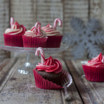Good Food Christmas, Candy Cane Cupcakes, recipe and styling by Katie Bryson, photo by Sharron Gibson