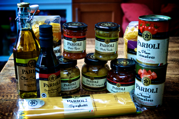 Parioli products sent to try