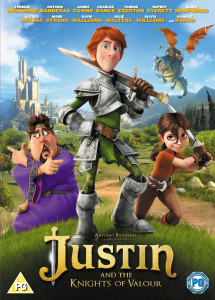 Justin and the Knights of Valour is out on DVD/Blu-ray from 3rd February