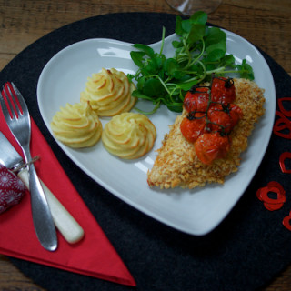Valentine meal: Crispy spiced chicken