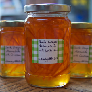 Seville orange marmalade with cointreau
