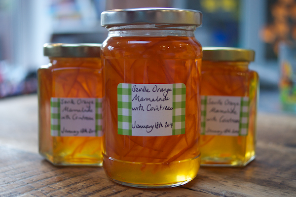 Seville orange marmalade with cointreau from feedingboys.co.uk
