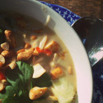 Thai noodle soup on feedingboys.co.uk