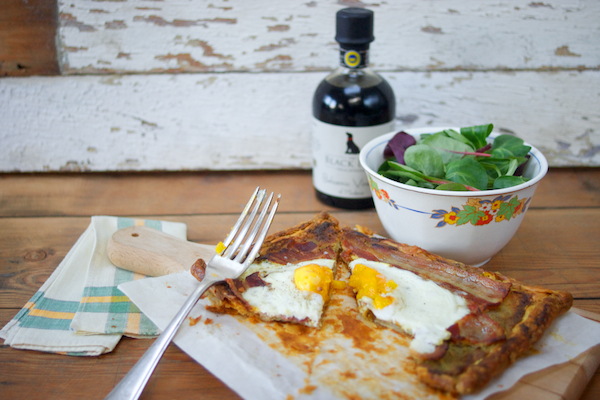 Bacon and Egg Puff Tart on Feedingboys.co.uk