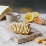 Lemon Shortbread with Earl Grey Icing: recipe Katie Bryson, photo Sharron Gibson for the Good Food Channel