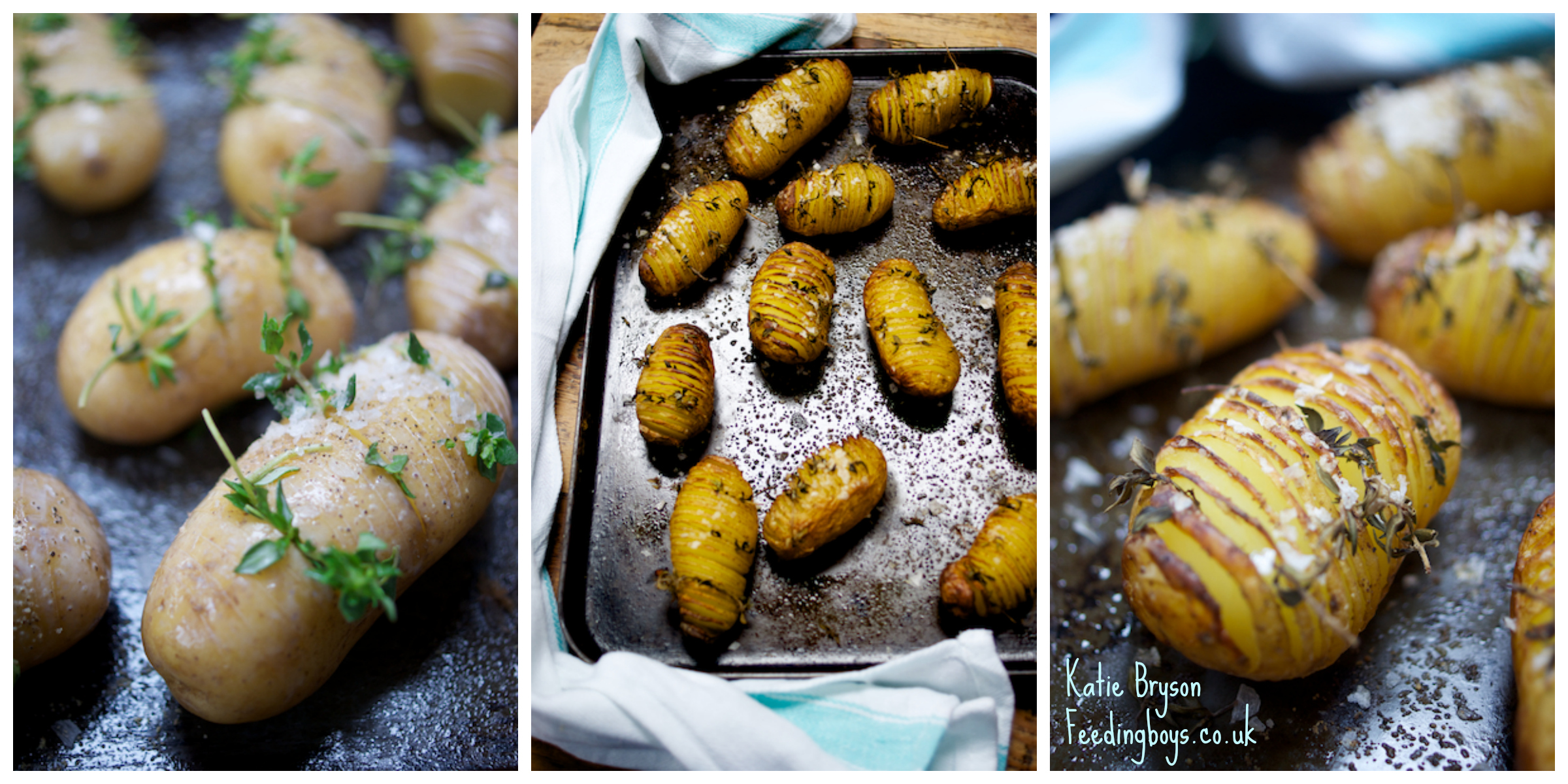 Fancy roasted potatoes - photo by Katie Bryson