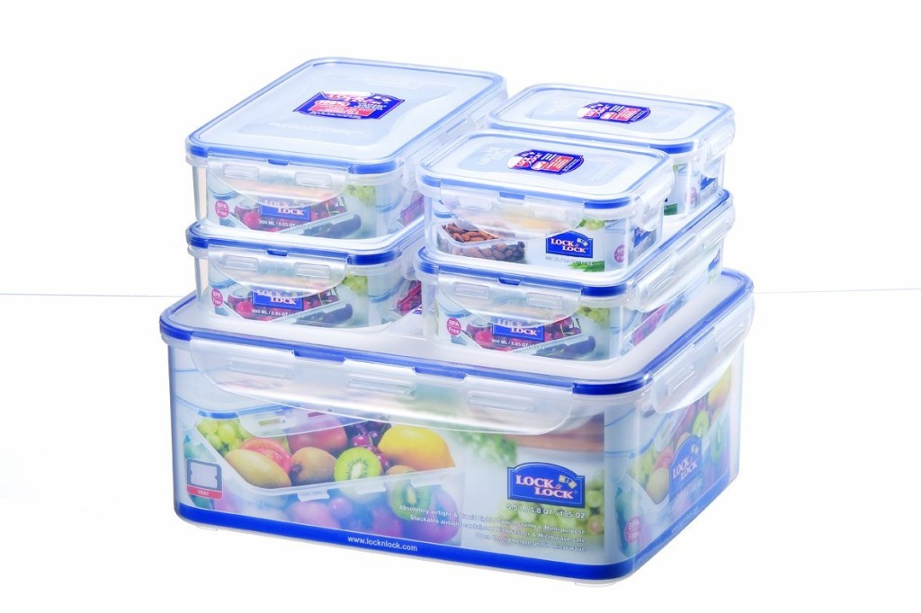 Win Lock and Lock storage pots with Weight Watchers