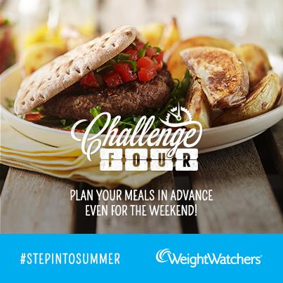 weight watchers #stepintosummer challenge 4