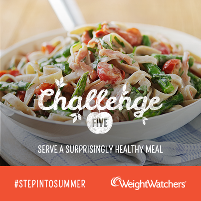 Weight Watchers #stepintosummer challenge 5