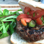 BBQ Burgers for Weight Watchers - photo by Katie Bryson