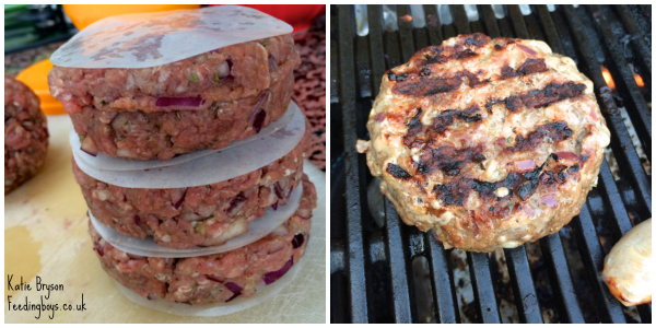 BBQ Burgers for Weight Watchers: photo by Katie Bryson